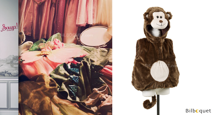 Monkey age 3 - Costume for kids Souza for kids