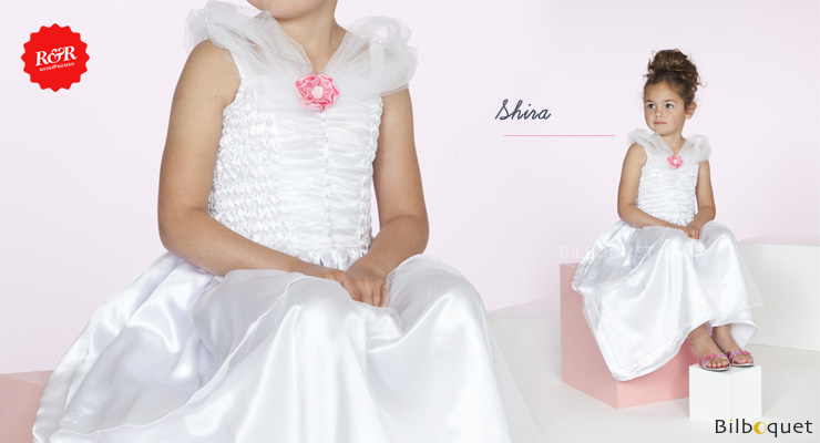 Robe blanche Shira - Déguisement fille 5-7 ans Rose & Romeo
