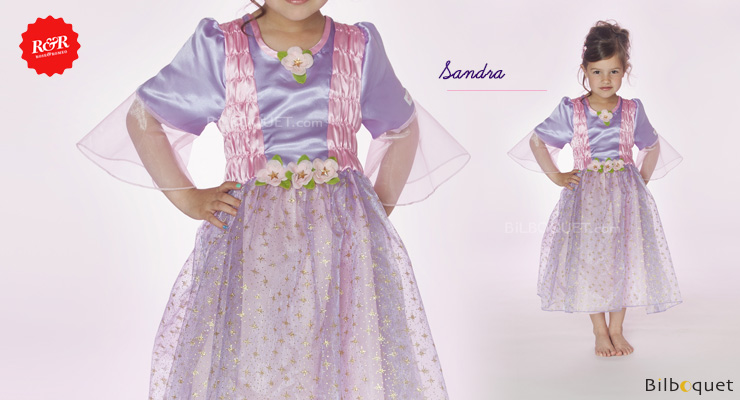 Dress Sandra - Costume for Girl ages 5-7 Rose & Romeo