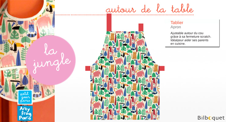 Apron for kids - The Jungle Petit Jour
