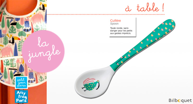 Melamine Spoon - The Jungle Petit Jour