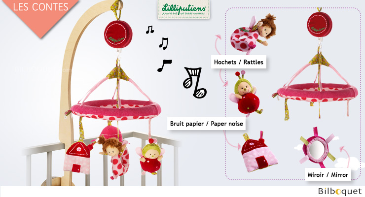 Liz Baby Musical Mobile - Tales Lilliputiens