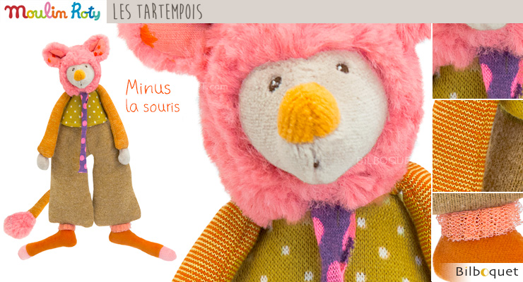 Minus Mouse Doll - Les Tartempois Moulin Roty