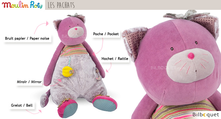 Activity Cat - Les Pachats Moulin Roty
