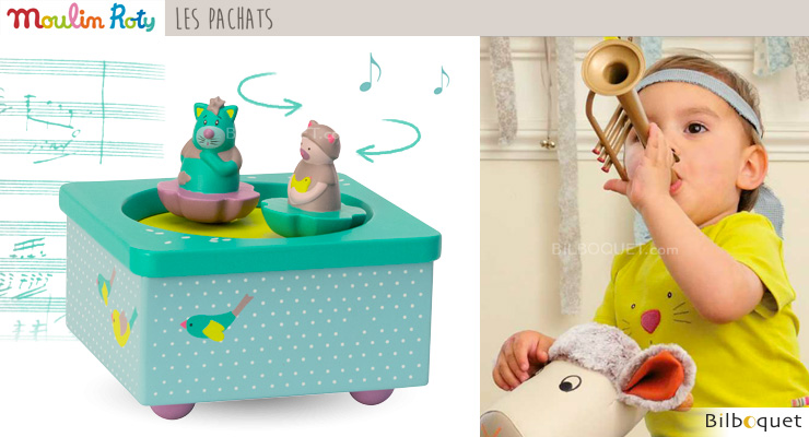 Decorative Musical Box - Les Pachats Moulin Roty