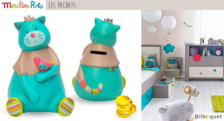 Money Box Fat Chacha - Les Pachats Moulin Roty
