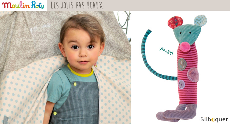 Squeaky toy - les jolis pas beaux Moulin Roty