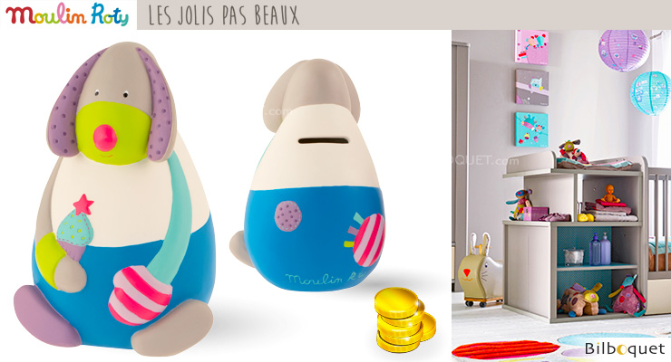 Dog Money Box - Les Jolis pas Beaux Moulin Roty