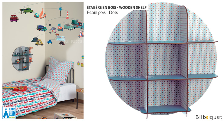 Wooden Dots - Little Big Room Little Big Room by Djeco