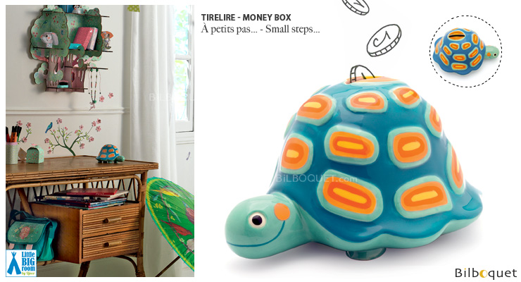 Money Box Small steps - Little Big Room Little Big Room by Djeco