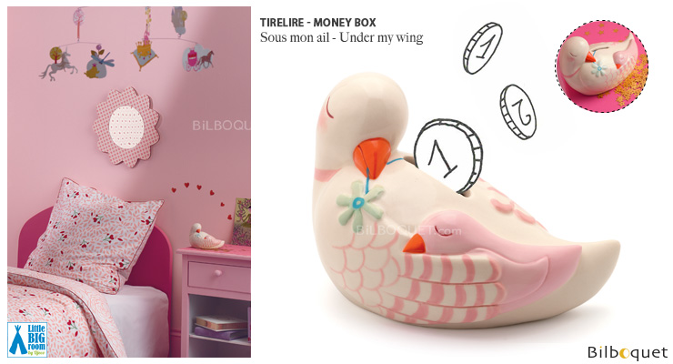 Money Box Under my wing - Little Big Room Little Big Room by Djeco