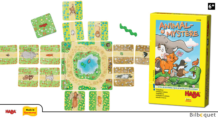 Clomping Creatures Guessing Game Haba
