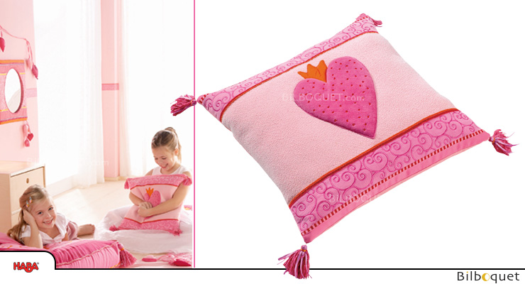 Cushion Pia, square - Kids Room Decor Haba