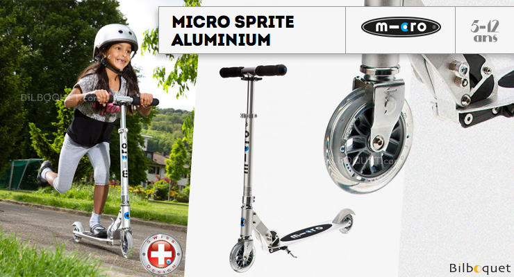 Micro Sprite Alu - Scooter for ages 5-12 Micro Mobility Scooters & Kickboards