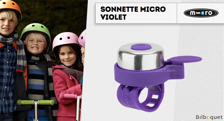 Micro Bell Scooter - Purple Micro Mobility Scooters & Kickboards
