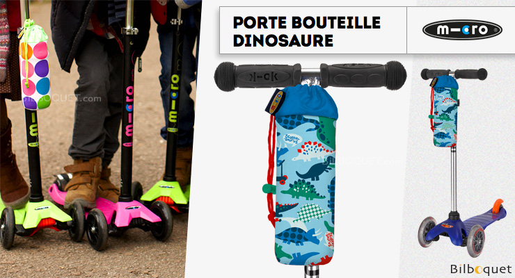 Porte-bouteille pour trottinette - Motifs Dinosaures Micro Mobility Scooters & Kickboards