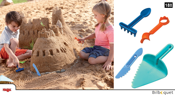 Large Sand Sculpting Set Haba