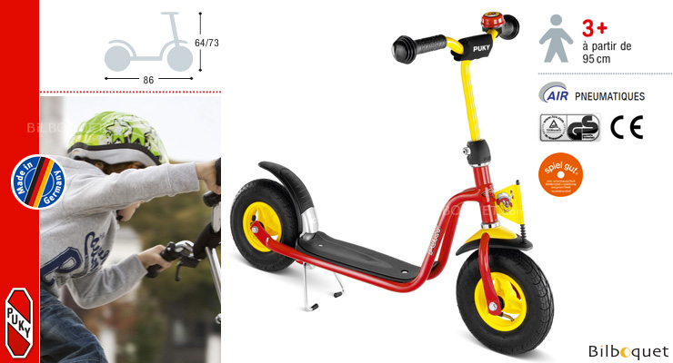 R03L Scooter for kids - red Puky