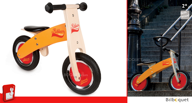 Little Bikloon Balance Bike - Age 2+ Janod