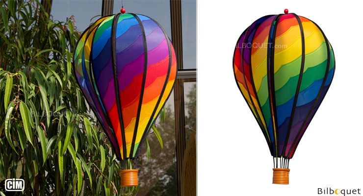 Satorn Balloon Spiral Outdoor Deco Colours in Motion