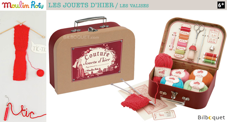 Sewing Suitcase - Toys of Yesterday Moulin Roty