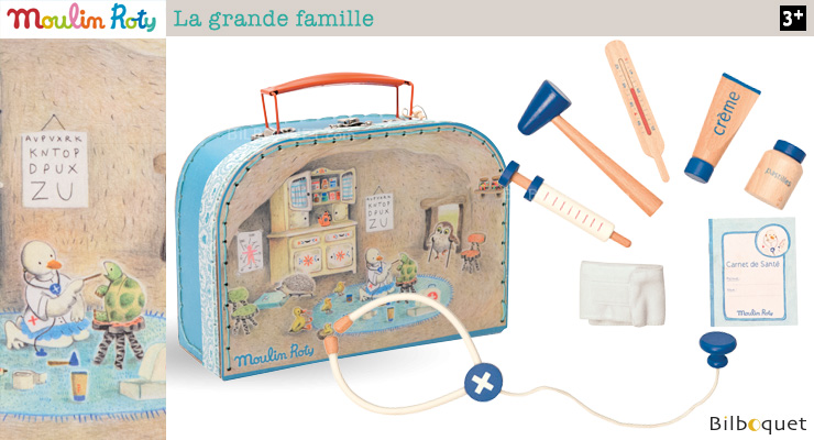 Doctor's medical bag - La grande famille Moulin Roty