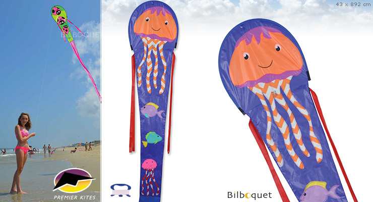 30 Ft. Dragon - Jellyfish - Kite for kids Premier Kites & Designs