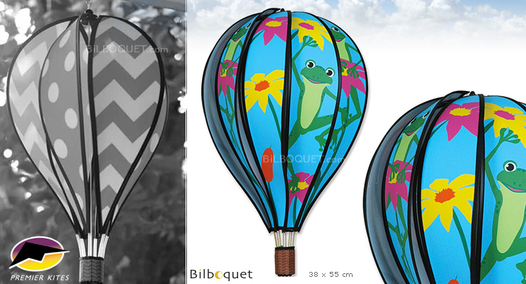 Hot Air Balloon 55cm Frogs Premier Kites & Designs