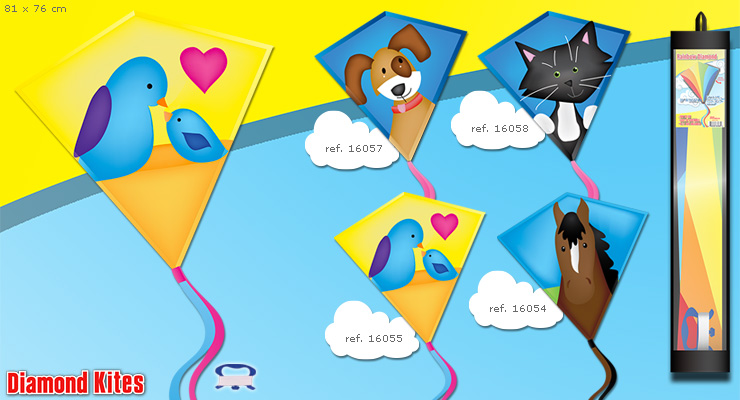 Birds Diamond - Kite for Kids