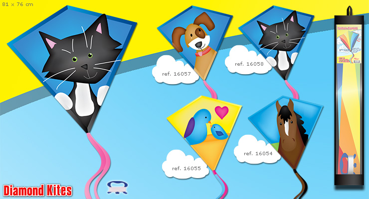 Kitty Cat - Kite for Kids