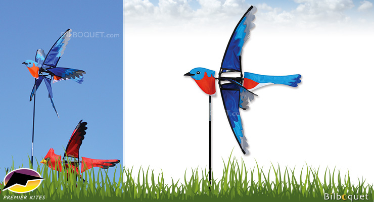 Bluebird Decorative Spinner 58cm - Wind Game Premier Kites & Designs