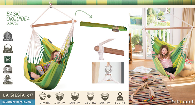 Hammock Chair Orquidea Jungle La Siesta Hammocks