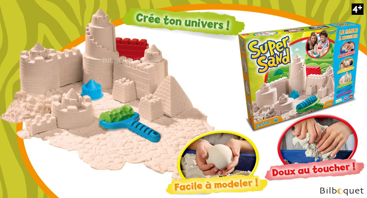 Super Sand Castle - Modeling Sand with Molds Super Sand