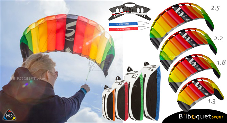 HQ Symphony Pro - 2-line Power Kite 1.8 HQ Kites