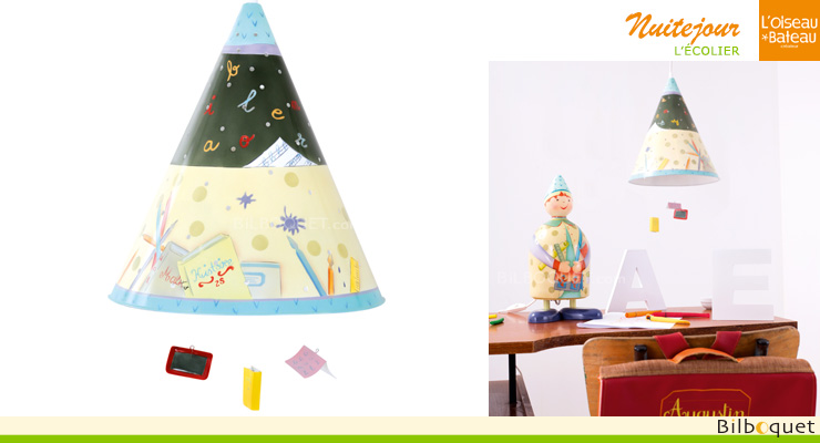 Day and night Schoolboy Lamp L'Oiseau Bateau
