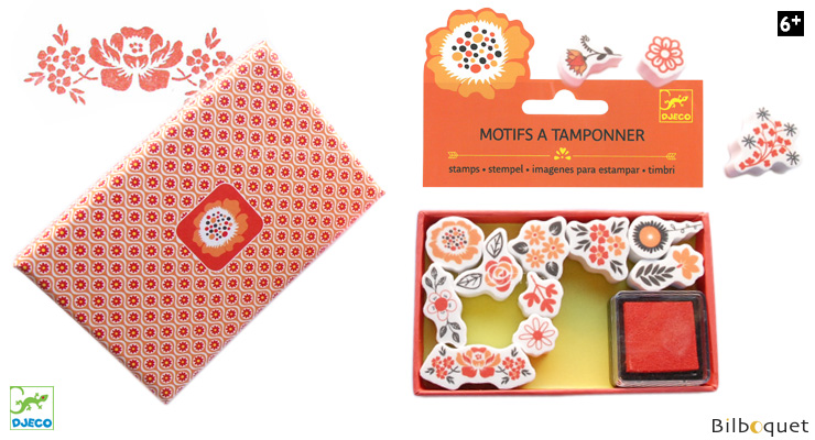 Small Stamps - Flowers Djeco