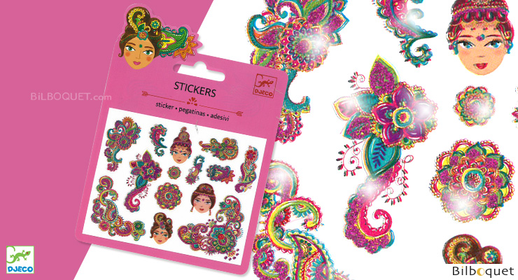 Mini Sticker - Indian Designs Djeco