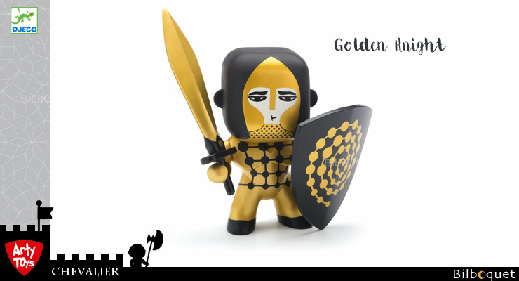 Golden Knight - Arty Toys Knights Djeco