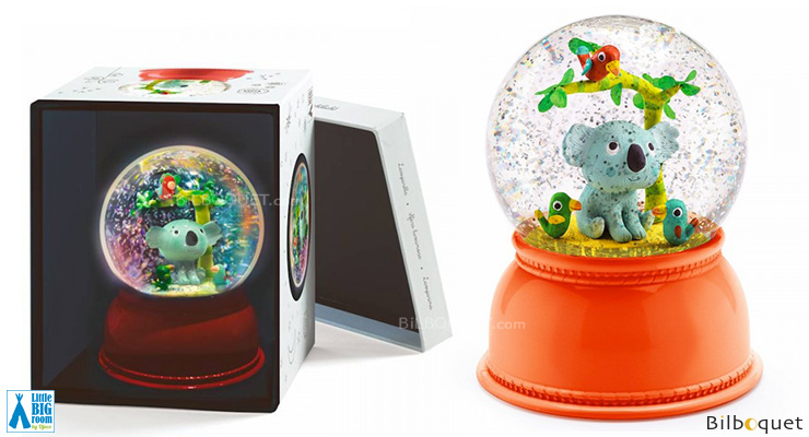 Kali the koala Night Light & Snow Globe Little Big Room by Djeco