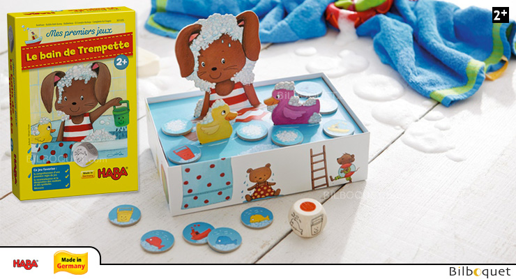 Bubble Bath Bunny - My very first games Haba