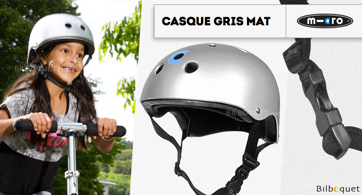 Casque Silver Mat - Taille L Micro Mobility Scooters & Kickboards