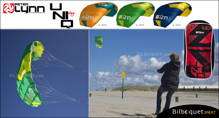 UNIQ Play - Single Skin Dual-line Kite 1.0m Peter Lynn