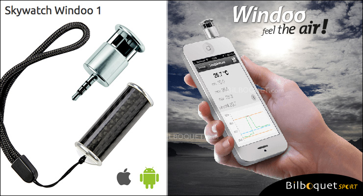 Skywatch Windoo 1 - Anémomètre pour Smartphone Skywatch