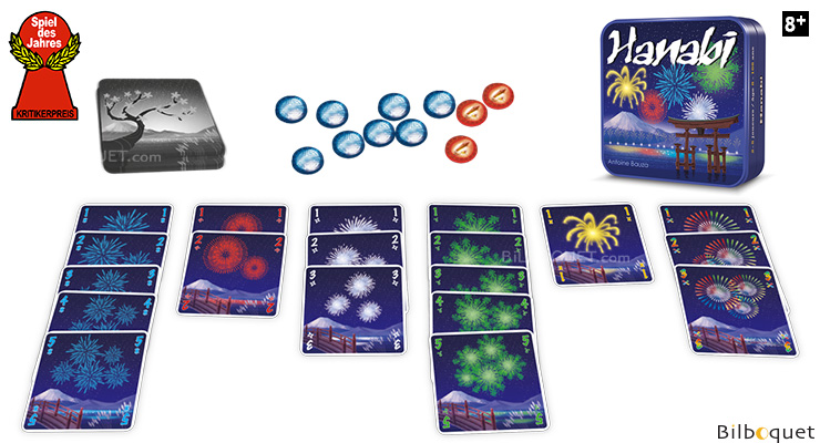 Hanabi Card Game Cocktail Games