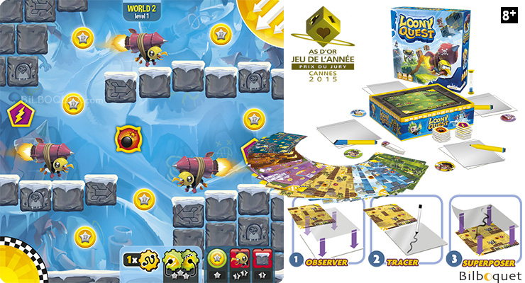 Loony Quest - Drawing and Spatial Orientation Game Libellud