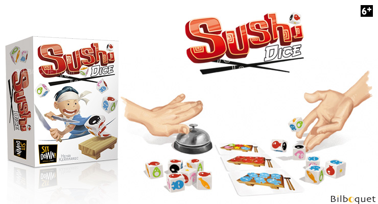 Sushi Dice Game Sit Down! Games