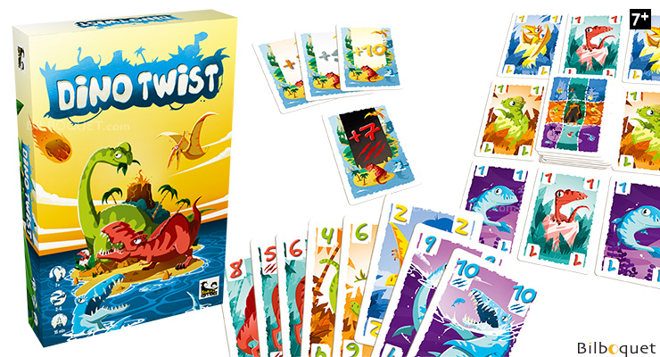 Dino Twist - Jeu de cartes