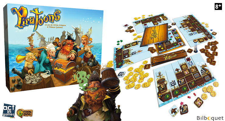 Piratoons - Jeu de pirates Act in Games