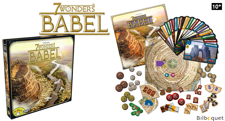 Babel - Expansion for 7 Wonders Game Repos Production