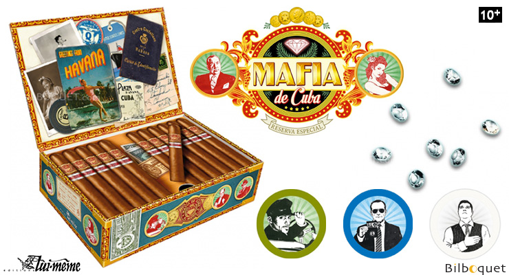 Mafia de Cuba - Game of bluff Lui-même Editions